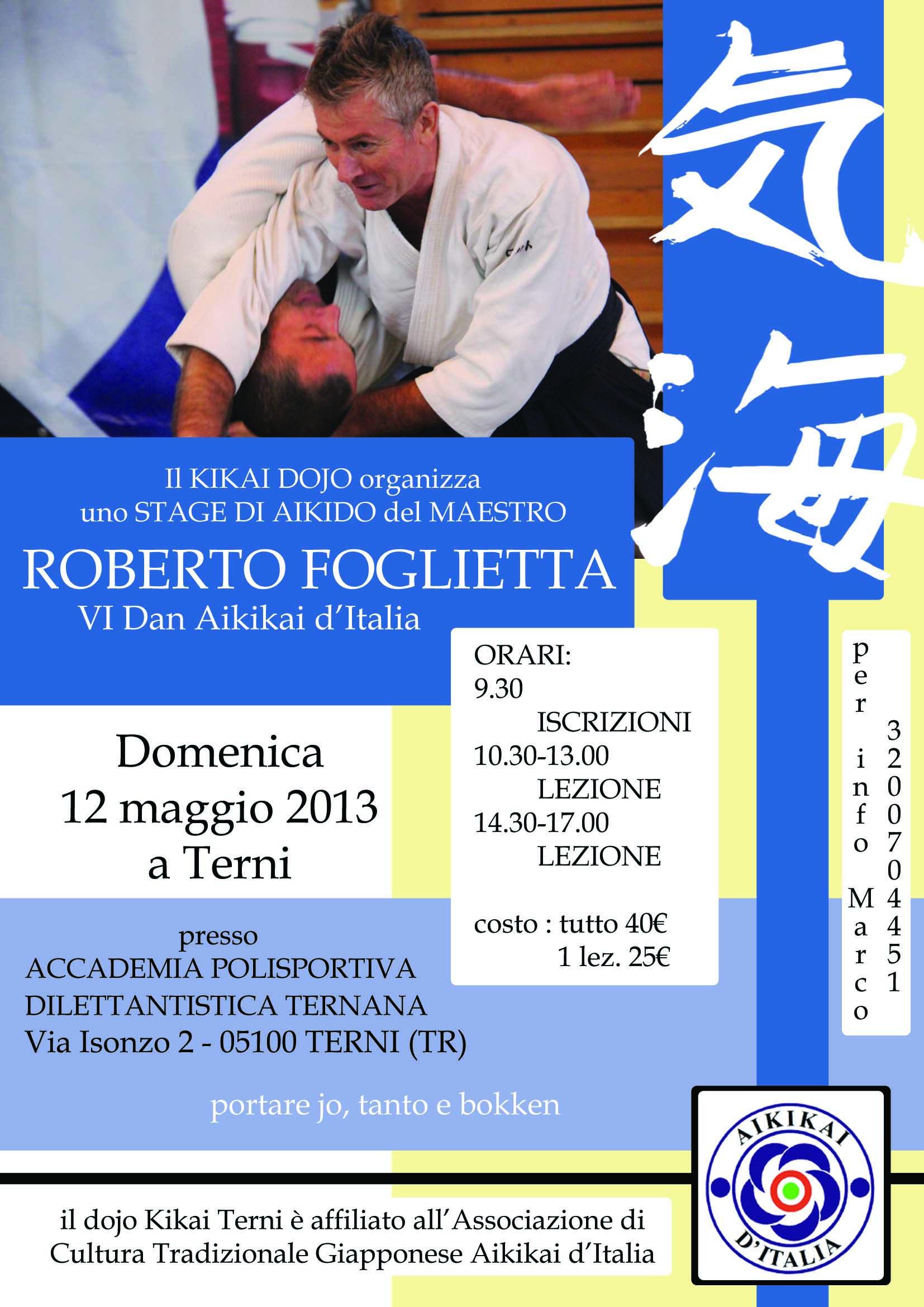 Foglietta Terni maggio 2013
